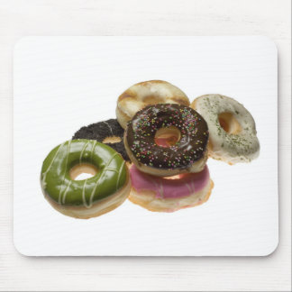Pile of donuts mouse pad