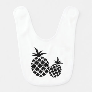 Pineapple Pattern Bib