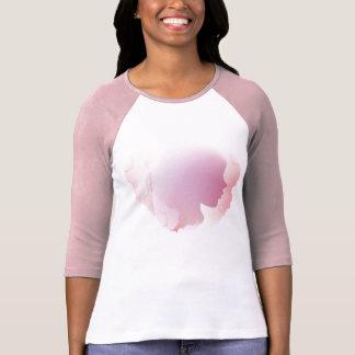 Pink aquabella lady t-shirt long sleeve