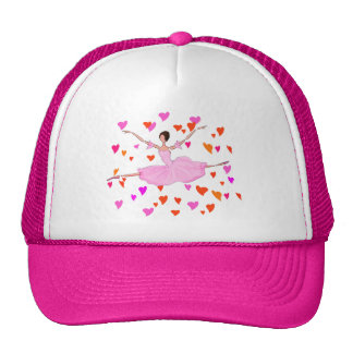 PINK BALLERINA DANCING AND JUMPING HAT
