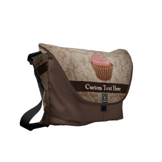 Pink/Brown Cupcake Commuter Bags