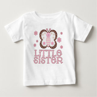 Pink Butterfly Little Sister Tees