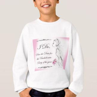 Pink elegant Bachelorette Party Design Tee Shirt