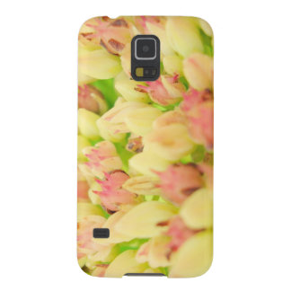 Pink Flowerbed Case For Galaxy S5