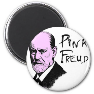 Pink Freud T-Shirt Great Quality Pink Floyd 6 Cm Round Magnet