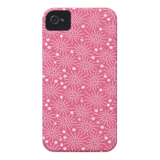 Pink Japanese Firework Pattern iPhone 4/4S Case