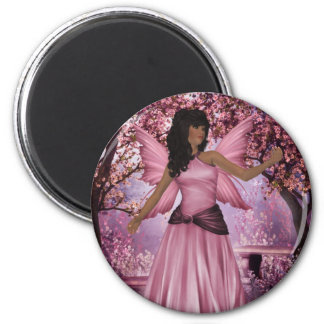 Pink Lady Fairy Magnet