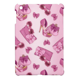 Pink stiletto and bow purse case for the iPad mini