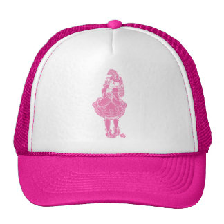 Pink Witch Cap