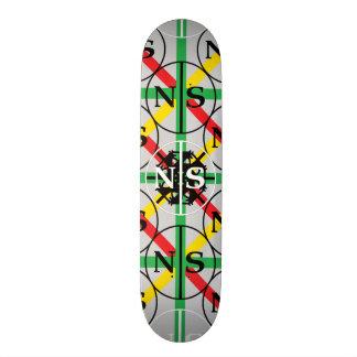 Pinstripe by N|S 20.6 Cm Skateboard Deck