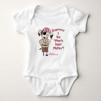 """Pirate Dog """"Mans Best Matey! Tee Shirt"""