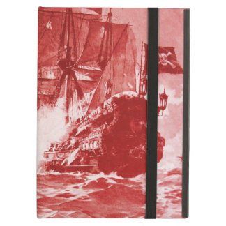 PIRATE SHIP BATTLE IN purple Case For iPad Air