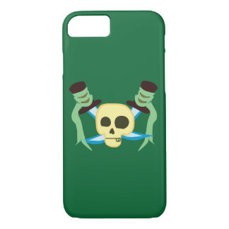 Pirate Skull and Swords iPhone 7 Case