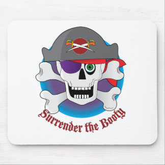 Pirate Skull Pod Mouse Pad