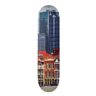 Pittsburgh PA Skyline Closeup 20 Cm Skateboard Deck