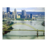 Pittsburgh Pennsylvania Rivers Postcard