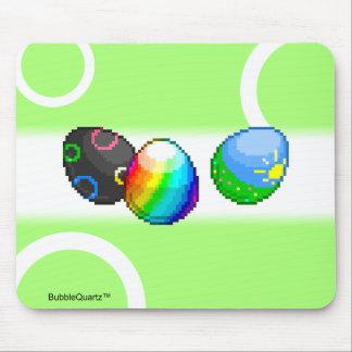 Pixel Easter eggs mousepad