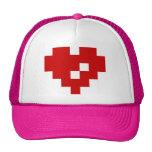 Pixel Heart 8 Bit Love Cap
