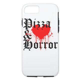 Pizza & Horror iPhone 7 Case