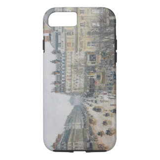 Place du Theatre Francais, Paris: Rain, 1898 iPhone 7 Case