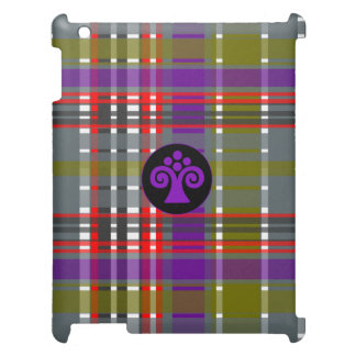 Plaid Abstract 2 iPad Cover