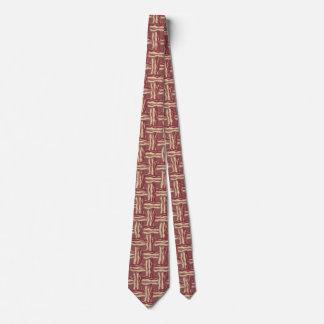 Plaid Bacon Tie
