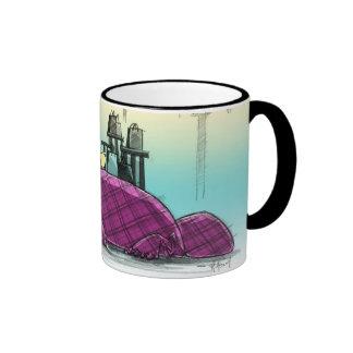 Plaid Is In! Ringer Mug