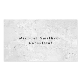 Plain Elegant Modern Grey Wall Texture Pack Of Standard Business Cards