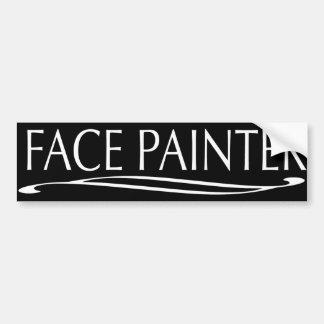 Plain Jain-Face Painter Bumper Sticker