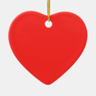 Plain RED : Buy BLANK or Add TEXT n IMAGE lowprice Ceramic Heart Decoration