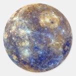 PLANET MERCURY v2 (solar system) ~ Round Sticker