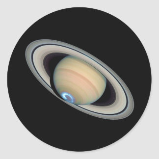 PLANET SATURN (solar system) ~ Round Sticker