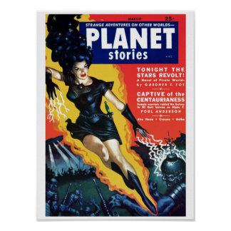 Planet Stories - The Stars Revolt Poster
