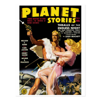 Planet Stories - Thralls Postcard