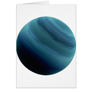 PLANET URANUS (solar system) ~ Greeting Card