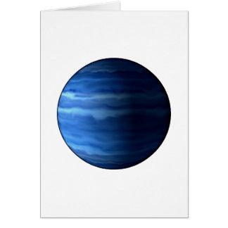 PLANET URANUS v2 (solar system) ~~ Greeting Card