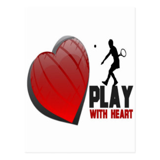 PLAY WITH HEART PRODUCTS POSTCARD