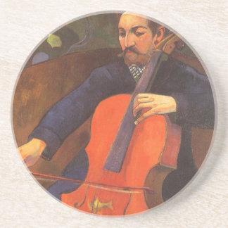 Player Schneklud Portrait by Paul Gauguin Coaster