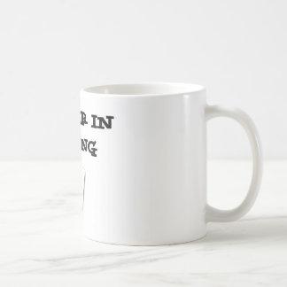 plumber in training basic white mug
