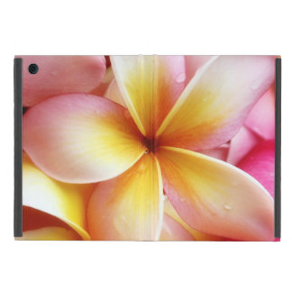 Plumeria Flowers Hawaiian Frangipani Floral iPad Mini Cover