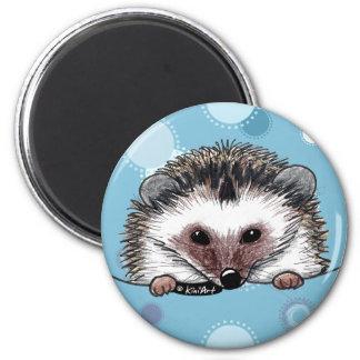 Pocket Hedgehog 6 Cm Round Magnet