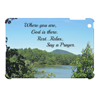 Poem of God's nearness. Case For The iPad Mini