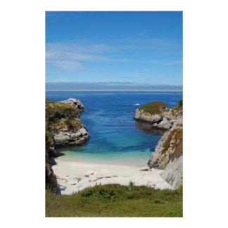 Point Lobos China Beach Poster