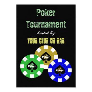 Poker Tournament Invitations