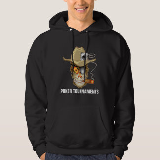 POKER TOURNAMENTS HOODED PULLOVERS