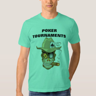 POKER TOURNAMENTS SHIRT