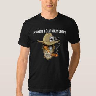POKER TOURNAMENTS T-SHIRTS