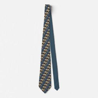 Polar Bear Ties Tribal Wildlife Art Tie / Necktie