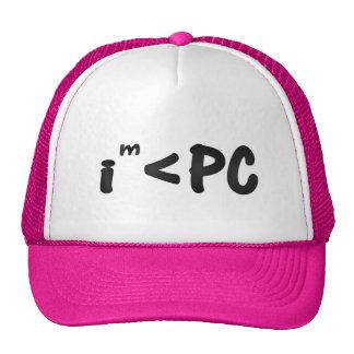 Politically incorrect trucker hat (I am < PC)