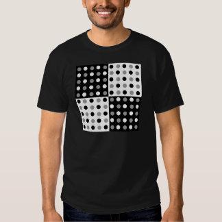 polka-dots design tee shirt